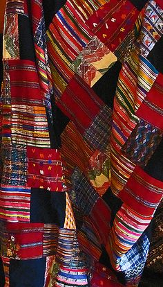 """Love these colours!!!  Fair Trade Guatemalan Puzzle Quilt. 10% off any purchase for our Pinterest Followers - Use Coupon Code """"2013"""" in the checkout form."""