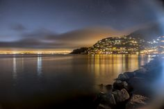 Sausalito, CA overlooking the SF Bay
