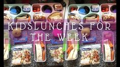KIDS LUNCHES FOR THE WEEK NO.4 | UK FAMILY OF 7