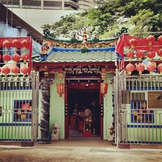 Seng Wang Beo Temple 城隍廟 #singapore #sg #cbd #temple #history #culture #tourist #attraction #106years #heritage #old #guosheng #guoshengz #iphone4s