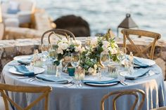Destination Wedding Tablescape / Centerpiece