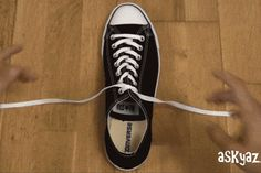 tying your shoes the fancy way