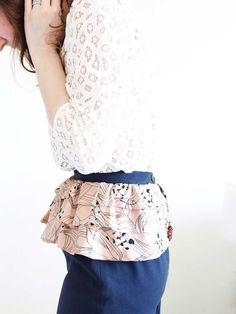 Pretty Peplum Skirt