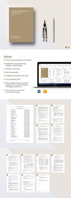 Startup Business Plan Template - $25 Formats Included MS Word - business plans template