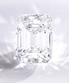 A Spectacular Emerald-Cut Diamond | Lot | Sotheby's | This 100.2 carat flawless diamond sold for 22,090,000 USD