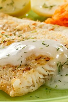 Pacific Cod with Garlic Sauce-The Best Seafood Recipes Around #seafoodrecipes