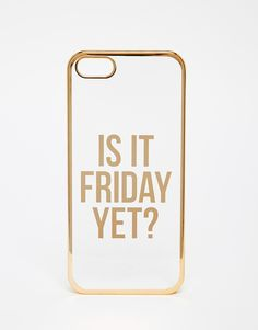Image 1 of ASOS Is It Friday Yet iPhone 5 Case