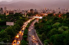 """https://flic.kr/p/vrWyxa   Modarres boulevard, Tehran   Used VSCO """"Fuji fortia SP"""" preset as base for my PP."""