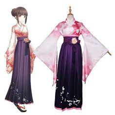 Unbranded Purple Costumes for Women for sale Cosplay Outfits, Anime Outfits, Cosplay Costumes, Anime Kimono, Anime Dress, Japanese Outfits, Japanese Fashion, Vestidos Anime, Cute Kimonos
