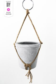 DIY // Plant hanger. By Smäm.