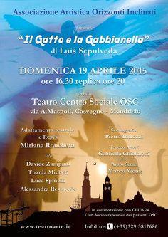 IL GATTO e LA GABBIANELLA di Luis Sepulveda- Adattamento teatrale di Mir...