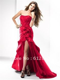 Evening dress for christmas party events