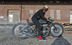 1977 Honda CB750F2 Brat Bike