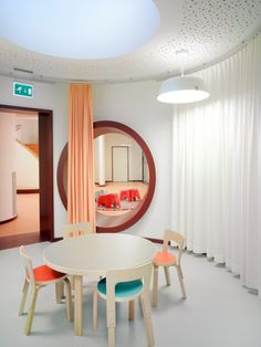 Artek - Projects - Contract Projects - Novartis Day Care Center, Basel Switzerland