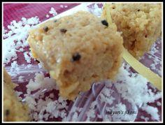 517. coconut barfi / coconut fudge