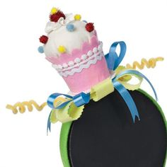 Cupcake with Sprinkles Headband
