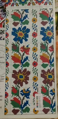 Cross Stitch Borders, Cross Stitch Baby, Cross Stitch Embroidery, Embroidery Patterns, Cross Stitch Patterns, Loom Beading, Textiles, Needlepoint, Folk Art