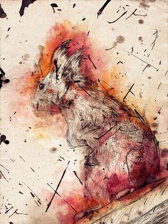 Intrinsic Nature: Experiment 12 by Karim Fakhoury, via Behance