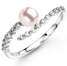 Pearl and diamonds..Perfect ♥✤ | Keep the Glamour | BeStayBeautiful