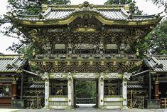 Toshogu shrine is a UNESCO World Heritage Site in Nikko (Japan)