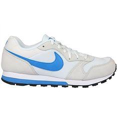 Nike Herren Md Runner 2 Gymnastik, Bianco (White/Photo Blue/Gmm Blue