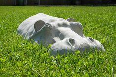 Hippopotamus Garden Sculpture Facebook Twitter Google+ Pinterest StumbleUpon Email