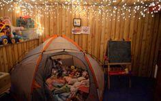 Bedroom camping