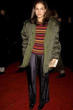 90s Fashion, Autumn Fashion, High Fashion, Style Fashion, Natalie Portman Style, Curvy Petite Fashion, Red Carpet Looks, Sheer Dress, Cannes Film Festival