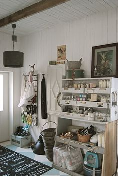unique Swedish home--entryway Country Modern Home, Design A Space, Swedish House, Cottage Design, My Dream Home, Ideal Home, Interior Inspiration, Small Spaces, Living Spaces
