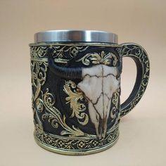 Skull Mugs Cow