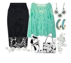Be There by ellary-branden on Polyvore featuring Quiz, Giuseppe Zanotti, Nancy Gonzalez and Sparkling Sage