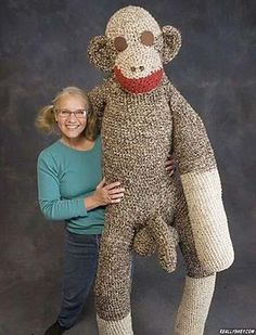 thats not how my sock monkey looked. I wonder if it vibrates? just asking