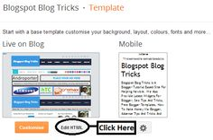 How To Add Keyboard Keys Effect To Your Blogger Blog Post ~ Blogspot Blog Tricks