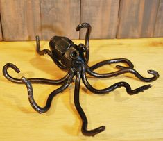 Scrap Metal Octopus. Follow FOSTERGINGER@ PINTEREST for more pins like this. NO PIN LIMITS. Thanks to my 22,000 Followers. Follow me on INSTAGRAM @ ART_TEXAS