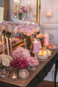 A Jo Malone inspires peony party Deco Rose, Spring Home Decor, Beauty Room, Pink Aesthetic, Beautiful Flowers, Fresh Flowers, Flower Arrangements, Room Decor, Inspiration