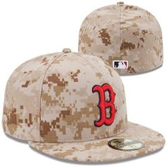 New Era Boston Red Sox 2013 Memorial Day Stars & Stripes 59FIFTY Fitted Hat - Digital Camo