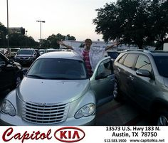 Thank you to Benjamin Murray on your new 2008 Chrysler Pt Cruiser from Belton Osborne Jr and everyone at Capitol Kia!