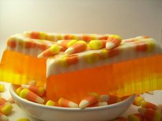 candy corn soap)