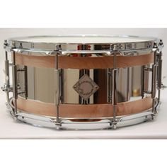 """#Acoutin Custom 6-1/2""""x14"""" Solid Maple & Stainless Steel Snare Drum $649.99"""