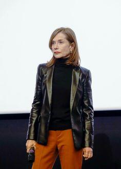 Isabelle Huppert 2018.