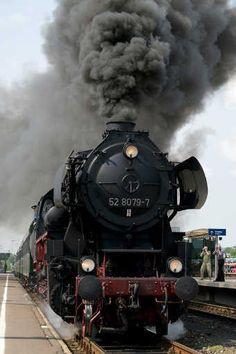 Dampflok BR 52 Deutsche Bundesbahn