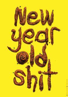 https://www.behance.net/gallery/22381351/Optimistic-Pessimistic-New-Year-Cards-?  #typography #handmadefont