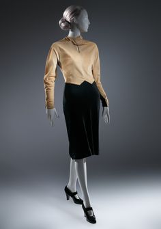 Charles James (American, born Great Britain, 1906–1978). Dress, early 1930s. The Metropolitan Museum of Art, New York. Purchase, Costume Institute Benefit Fund, Friends of The Costume Institute Gifts, and Acquisitions Fund, 2013 (2013.307) #CharlesJames