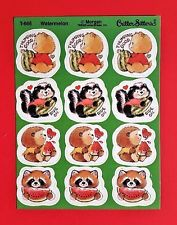 Pine Adorable!! Eureka Vintage Scratch /& Sniff Stickers