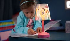 Tafellamp Philips Disney Princess 717962816 #philipsdisney #disneylamp #kinderlamp #lamp123.nl