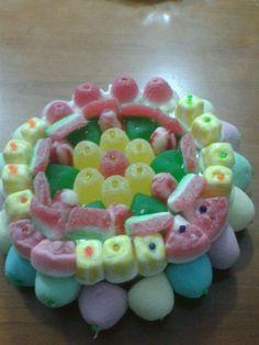 tarta de chuches pequeñas