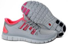 premium selection 856a4 7f53d Nike Free Run 5.0 V2 Womens Grey Pink Plymouth