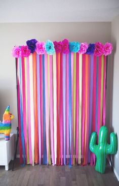 'Bout a Party! The photo booth. Say queso. Fiesta streamer photo back drop.The photo booth. Say queso. Fiesta streamer photo back drop. Baby Shower Photo Booth, Baby Shower Photos, Mexican Birthday, Mexican Party, Fiesta Theme Party, Party Themes, Party Ideas, Fiesta Party Decorations, Taco Party