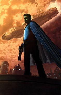 Lando Calrissian - Star Wars - Livio Ramondelli