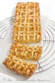 Tart di brisee dolce alle pere - Trattoria da Martina - cucina tradizionale, regionale ed etnica